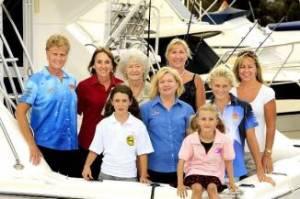BRIBIE Island Big Game Fishing Club members