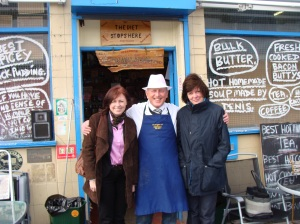 Shop keepers on the Fish Quays raising money for the Big Fish