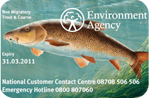 2010 Environment Agency Licence