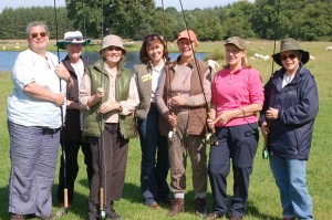 Ladies Fishing Event at Witton Castle Lakes