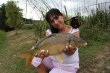 Vanessa with her first Carp on the Fly