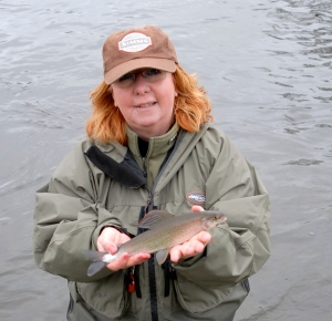 Alison Anderson Coach at Ladies Fishing