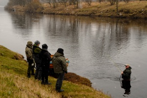 Ladies salmon tuition from AAPGAI Master Paul Little