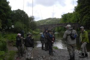 Ladies Fishing Summer Salmon Course River Annan