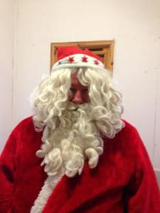 Santa at Chatton Trout Fishery