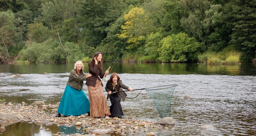 Anne Woodcock - Ladies Fishing