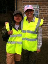 Mai and Anne at Rutland