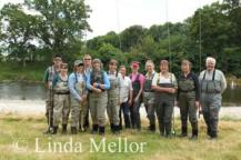 group photo taken by Linda Mellor