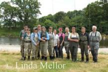 group photo taken by Linda Mellor