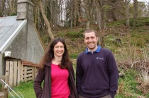 River Dee scientists came to say hello