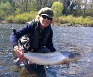 Jean's 21.5lb Spring Salmon