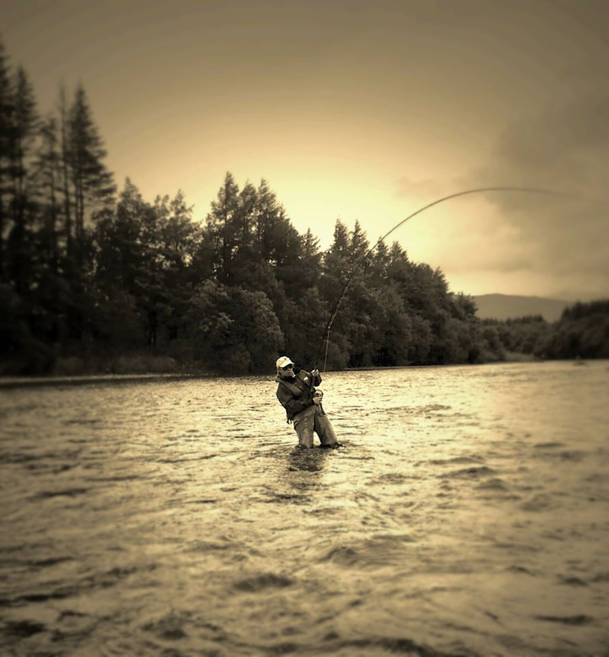 Fish on River Lochy