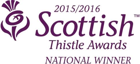 Thistle Awards National Winner 2015-16 copy
